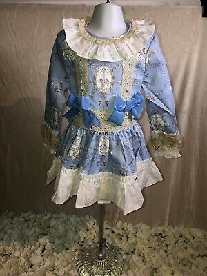 Girls Romany/spanish/traditional Summer Frilly Dresses