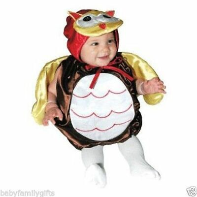 AM PM Kids Baby Boy or Girl Infant Toddler Owl Halloween Costume 28007