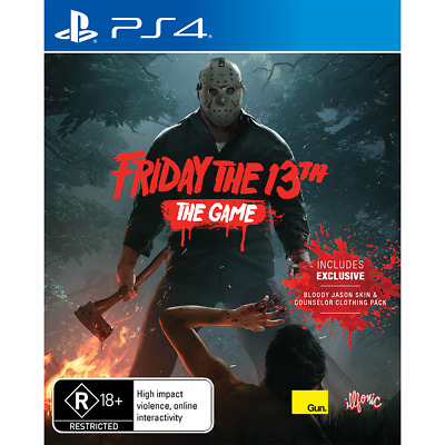 Friday the 13th The Game preowned - PlayStation 4 - PREOWNED