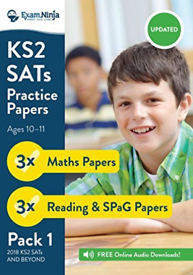Ks2 Sats Practice Papers - Pack 1 (English Reading, Spag & M BOOK NEW