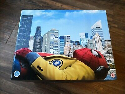 Spider-Man Homecoming Limited Edition 4K + 2D Blu-Ray + Figurine + Comic New&Box
