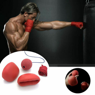Wanby Boxing Reflex Ball Portable Boxing Training Speed Ball with Headband for
