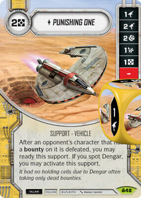 x1 Force Pull 117 Rare Star Wars Destiny Convergence M//NM