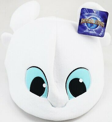 New Universal Studios Parks How To Train Your Dragon Light Fury Plush Adult Hat