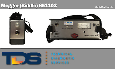 [USED] Megger (Biddle) 651103 Cable Fault Locator + Performance Test