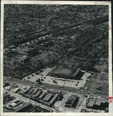 1981 Press Photo Aerial view of the New Orleans Baptist Theological School