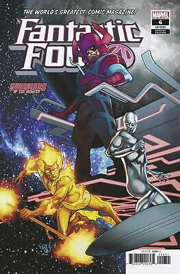 Fantastic Four #6 Marvel 2019 Ferry Gotg Variant Cover Stock Image