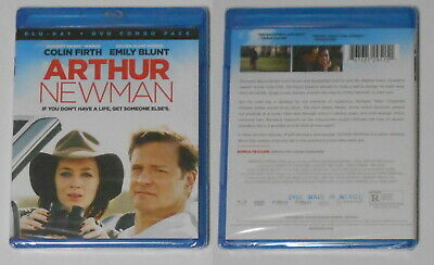 Arthur Newman - Colin Firth, Emily Blunt   U.S. blu ray, sealed