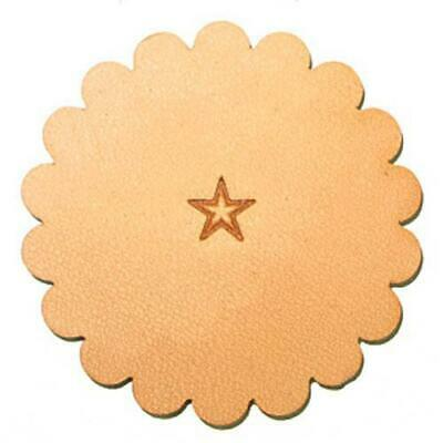 Z609 Medium Star Leather Stamp 6609-00
