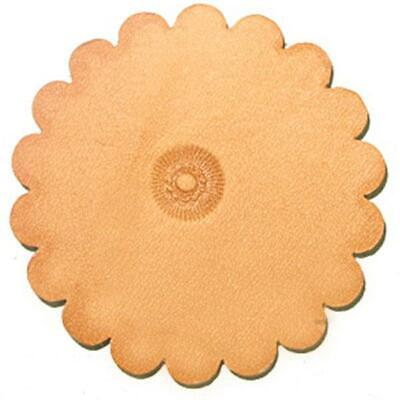 PS008 Flower Center Leathercraft Stamp