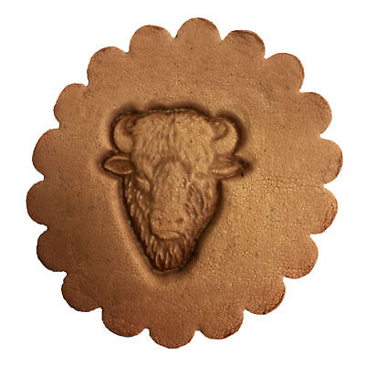Buffalo Head 3-D Leathercraft Stamp 88458-00