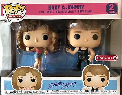 Dirty Dancing Baby & Johnny Vinyl Figures Target Exclusive Funko Pop! 2-Pack NIB