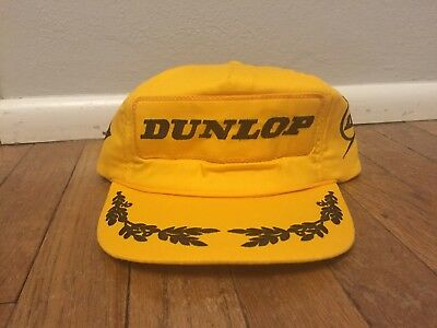 Dunlop Men Vintage Hat Yellow
