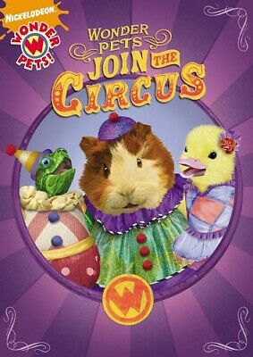 Wonder Pets Join The Circo Nuovo DVD