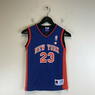 4d0846454 Youth Champion NBA New York Knicks 23 CAMBY Basketball Jersey - Tag Size  S