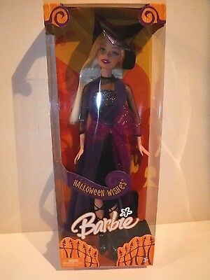 2005 Halloween Wishes Barbie - Mnrfb