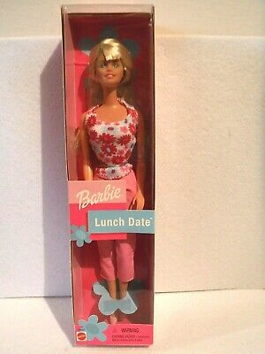 New Lunch Date Barbie -  2001 - Mnrfb