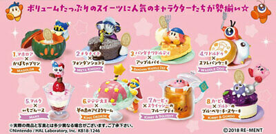 RE-MENT Kirby Cook Kawasaki's Kimagure Sweets Party 8Pack BOX