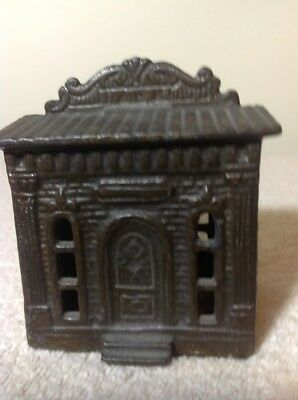 Antique Sill Bank Building Cast Iron; Unusual Roof Ledge; Judd Co., US; 1895