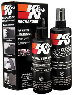 K&n Kn99-5050 Recharger Air Filter Cleaner & Oil Squeeze Bottle Service Kit