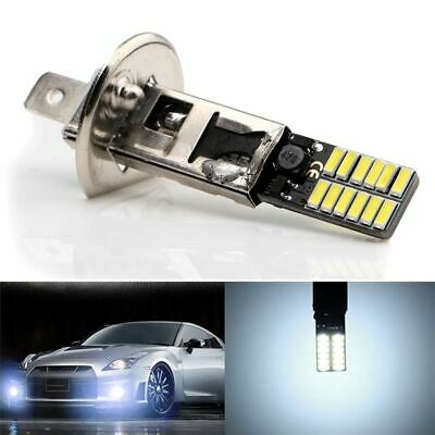 Bright White Auto Car Fog Light H1 6500K 24-SMD 4014 LED Bulb Driving DRL Lamp