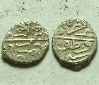Rare Ottoman Empire Turkey Silver akce Coin AKCHE you identify not cleaned 1500