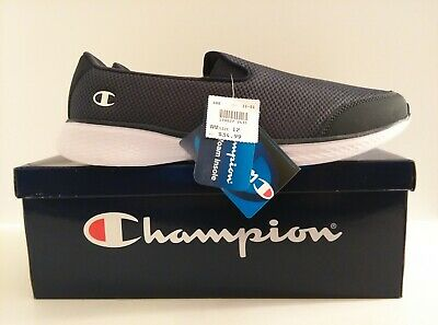 8c6f4afa52f Champion Women s Rewind Skater   Walking Shoes Memory Foam Blue Size 12 New  NIB