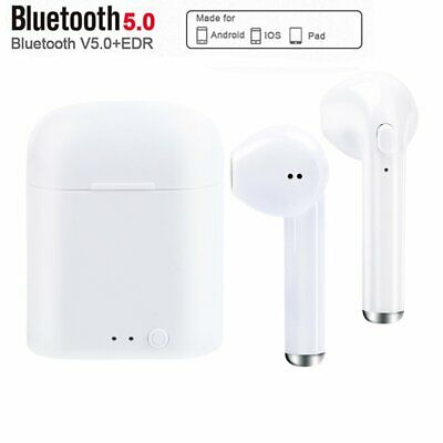 Wireless Bluetooth Headphones Earbuds For Apple iPhone 7 8 X XS & Charger Case