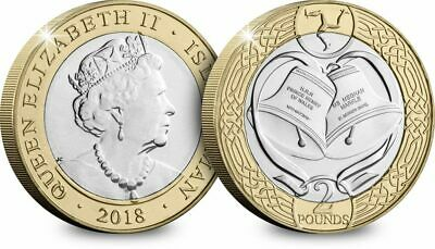 2018 Royal Wedding IOM £2 Coin - Isle Of Man - LTD EDITION BUNC, Harry & Markle