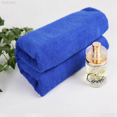 FB95 10PCS Microfiber Cleaning Product Detailing Cloths Wash Towel Duster Blue