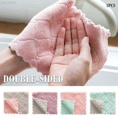 D795 Durable Clean Kitchen Scouring Dish Towel Cleaning Cloth Towel Absorbent