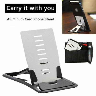 Universal Aluminum Desktop Desk Stand Holder Mount For Cell Phone and Tablet fad