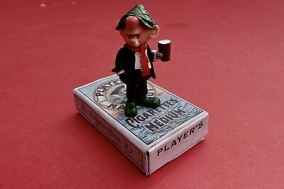 Vintage Andy Capp  Figure  Schleich very rare standing on PLAYERS NAVT CUT PACK