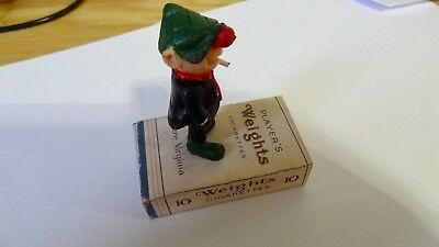 Vintage Andy Capp  Figure  Schleich very rare standing on Weights  Cigarettes