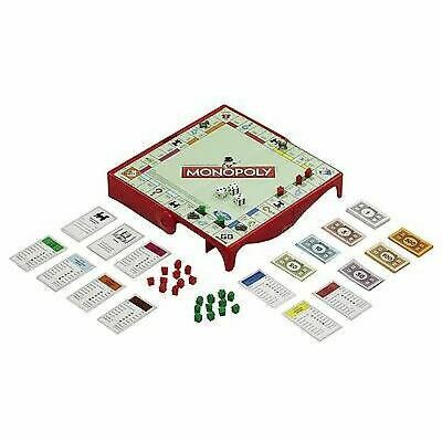 Monopoly Grab & Go Board Game