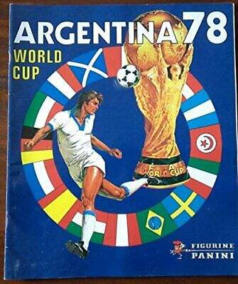 Panini Official Album Fifa World Cup Argentina 1978 Complete Reprinted Reimpreso