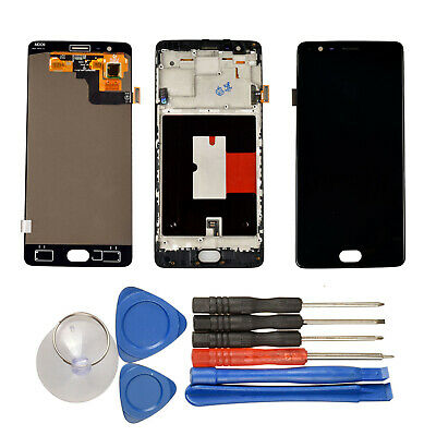 New OLED LCD Display Touch Screen Digitizer Assembly+Tools for OnePlus 1+  3 3T