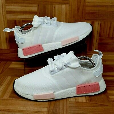 6fb12b5dd4a Adidas Original NMD R1 Boost (Women s Size 10.5) Sneakers Icy Pink White  Ultra