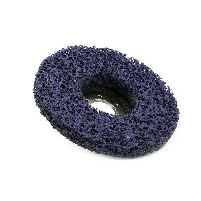 """5"""" Abrasive Poly Strip Disc Grinding Wheel for Angle Grinder Metal Rust Removal"""
