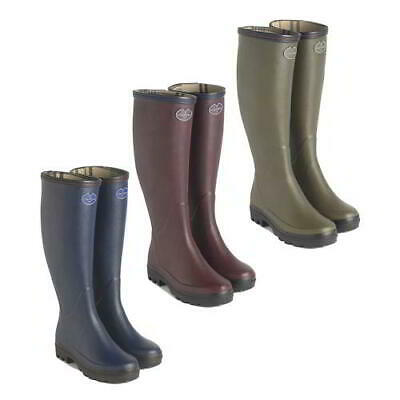 Le Chameau Womens Ladies Giverny Wellies Wellington Boots Size 4-7