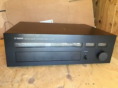 Yamaha Ct-7000 Natural Sound Fm Stereo Tuner