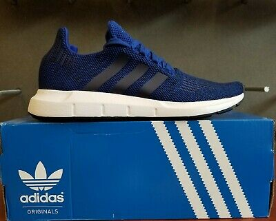 759ee9e00 ADIDAS CG4118 SWIFT RUN men s Royal Knit Athletic Shoes (size 9.5 ...