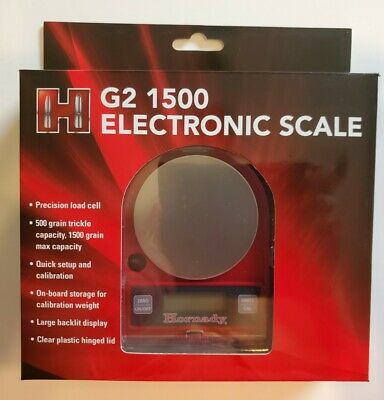 050106 Hornady G2-1500 Electronic Scale - Brand New - Free Ship In The Usa!