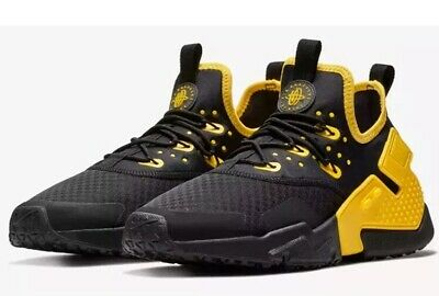 pretty nice c8129 d298e Nike Air Huarache Drift Black Yellow AH7334 008 Men s Size 13 NIB