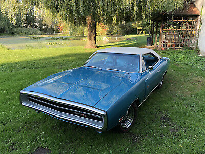 1970 Dodge Charger R/T 4-Speed Concourse-Resto Numbers Matching