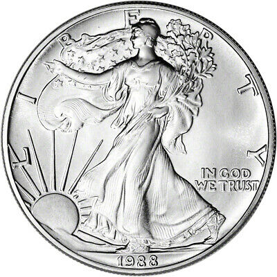 1988 American Silver Eagle - Brilliant Uncirculated