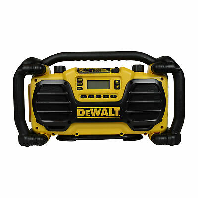 Dewalt DC012 7.2-18V Heavy Duty Cordless Worksite Radio / Battery Charger New