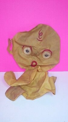 Antique Vintage Inflatable Baby Alien Figure Space Doll Robot Monster