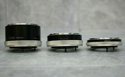 Vivitar Automatic Extension Tube 12, 20, 36mm Set