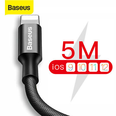 USB Cable for iPhone, Baseus Fast Data Charging Cable for iPhone XS Max XR X 8 7